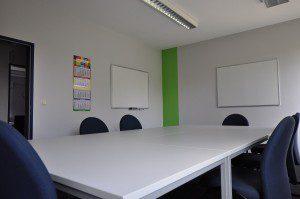 moderne Klassenräume bei inlingua Sprachschule Regensburg