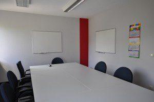 Schulungsraum bei inlingua Sprachschule Regensburg