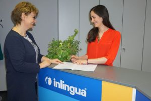 Kundenberatung in der Sprachschule